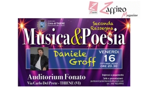 Musica&Poesia all'Auditorium Fonato, Via Carlo Del Prete, 37 - THIENE (VI)